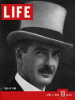Life Magazine, April 4, 1938 - Anthony Eden