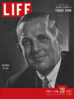 Life Magazine, April 4, 1949 - ECA's Paul Hoffman