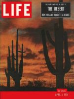 Life Magazine, April 5, 1954 - The desert