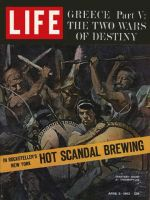 Life Magazine, April 5, 1963 - Spartans Stand at Thermopylae