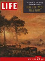 Life Magazine, April 6, 1959 - Explorers of the West