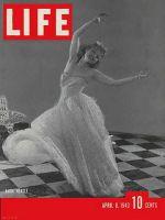 Life Magazine, April 8, 1940 - Anna Neagle