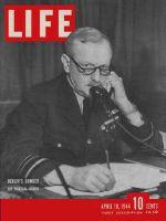 Life Magazine, April 10, 1944 - Air Marshal Harris