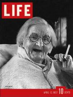 Life Magazine, April 12, 1937 - 100 Year Old Woman