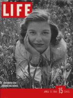 Life Magazine, April 12, 1948 - Barbara Bel Geddes