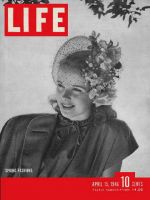 Life Magazine, April 15, 1946 - Woman in Easter hat