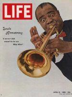 Life Magazine, April 15, 1966 - Louis Armstrong