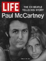 Life Magazine, April 16, 1971 - Paul and Linda McCartney