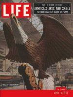 Life Magazine, April 18, 1955 - Cultural heritage, eagle