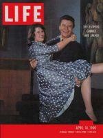 Life Magazine, April 18, 1960 - Elopement couple