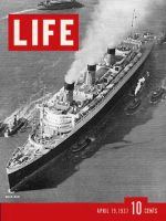 Life Magazine, April 19, 1937 - Queen Mary Ship