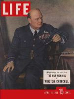 Life Magazine, April 19, 1948 - Churchill's memoirs
