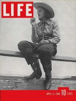 Life Magazine, April 22, 1940 - Fancy ranch duds