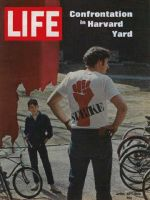 Life Magazine, April 25, 1969 - Harvard protester