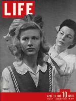 Life Magazine, April 26, 1943 - Junior Nurse's aides