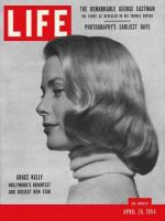 Life Magazine, April 26, 1954 - Grace Kelly
