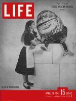 Life Magazine, April 28, 1947 - Alice in Wonderland