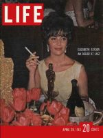 Life Magazine, April 28, 1961 - Oscar for Elizabeth Taylor