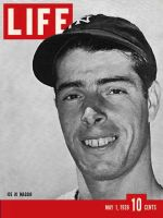 Life Magazine, May 1, 1939 - Joe DiMaggio, baseball