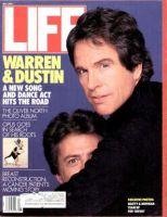 Life Magazine, May 1, 1987 - Warren Beaty And Dustin Hoffman