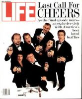 Life Magazine, May 1, 1993 - The Cheers Cast