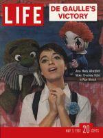 Life Magazine, May 5, 1961 - Anna Maria Alberghetti
