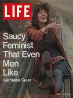 Life Magazine, May 7, 1971 - Feminist Germaine Greer