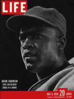 Life Magazine, May 8, 1950 - Jackie Robinson