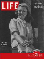 Life Magazine, May 9, 1949 - Missouri coed Jane Stone