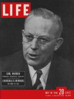 Life Magazine, May 10, 1948 - Governor Earl Warren