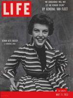 Life Magazine, May 11, 1953 - Dressy denim, fashion