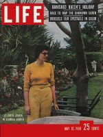 Life Magazine, May 12, 1958 - Iran's ex-queen
