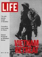 Life Magazine, May 12, 1972 - Vietnam soldier carries wounded buddy