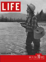 Life Magazine, May 13, 1946 - Fishing woman
