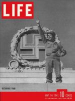 Life Magazine, May 14, 1945 - Victory in Europe, soldier