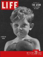Life Magazine, May 16, 1949 - Kids in the ring, boxing