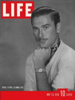 Life Magazine, May 23, 1938 - Errol Flynn