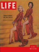 Life Magazine, May 25, 1953 - Marilyn Monroe and Jane Russell