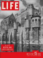 Life Magazine, May 26, 1947 - Medieval castle