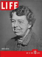 Life Magazine, May 29, 1939 - Eleanor Roosevelt