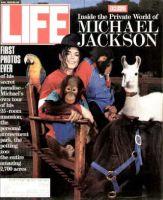 Life Magazine, June 1, 1993 - Michael Jackson With Animals
