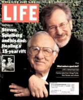 Life Magazine, June 1, 1999 - Steven Spielberg And Father