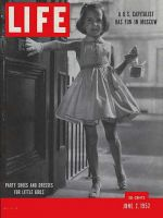 Life Magazine, June 2, 1952 - Party clothes, fashion