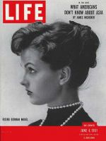 Life Magazine, June 4, 1951 - Ursula Thiess