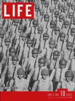 Life Magazine, June 5, 1944 - U.S. infantry