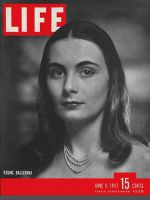 Life Magazine, June 9, 1947 - Young ballerina