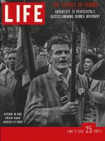 Life Magazine, June 9, 1958 - Anguish in France
