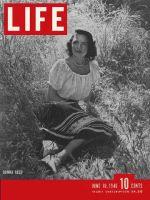 Life Magazine, June 10, 1946 - Donna Reed