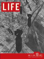 Life Magazine, June 12, 1944 - Bombs over Europe