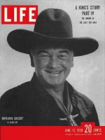 Life Magazine, June 12, 1950 - Hopalong Cassidy